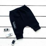 Спортивные штаны для малышей черные
