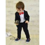 Классический черный костюм CHADOLLS для малыша
