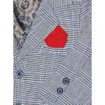 Костюм клетка CHADOLLS с красной бабочкой