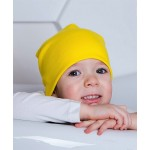 Шапка-чулок желтого цвета