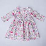 Платье полевые цветы для девочки