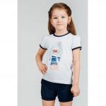 Футболка и шорты для девочки