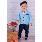 """Голубой костюм для мальчика """"Verona"""", голубой"""