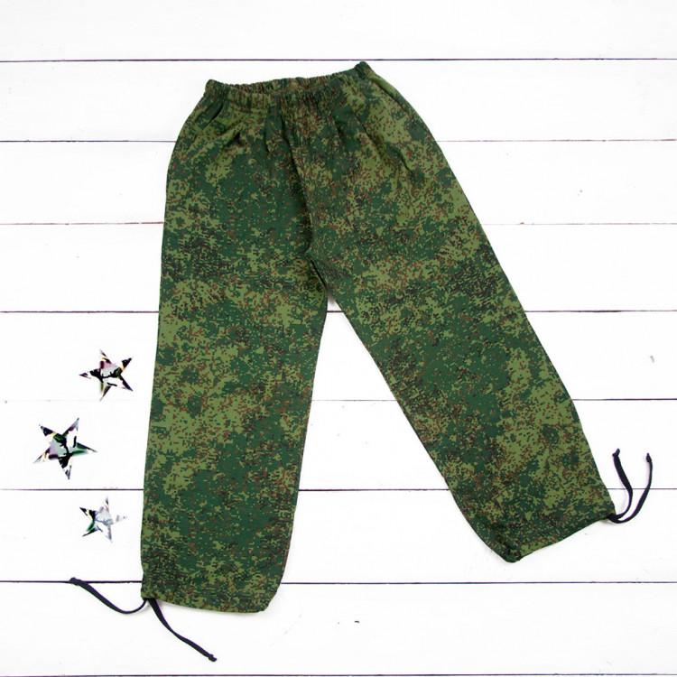 Камуфляжные брюки детские