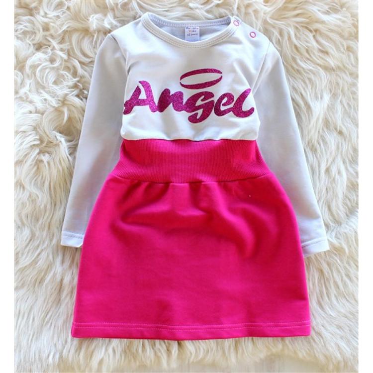 Платье для девочки Angel розовое