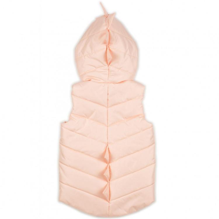 Жилетка для девочки розовая Дино