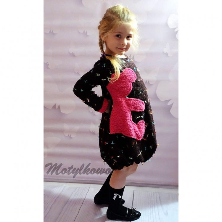 "Платье-туника для девочки ""Teddy Bear"""
