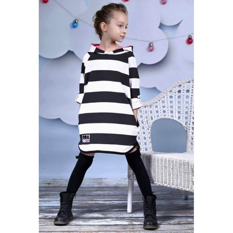 Туника-платье Paski с ушками