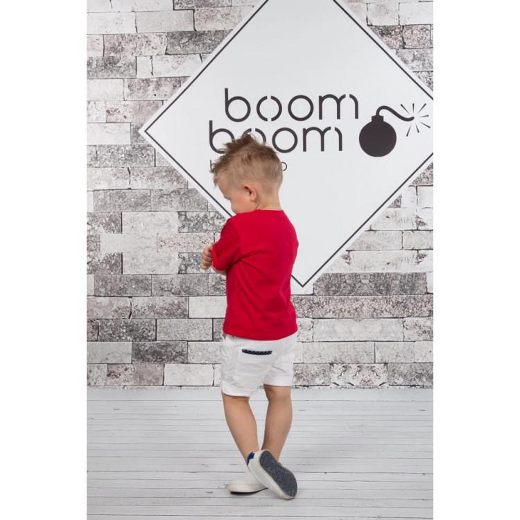 """Трехпредметный костюм с белыми бриджами """"Boom"""""""