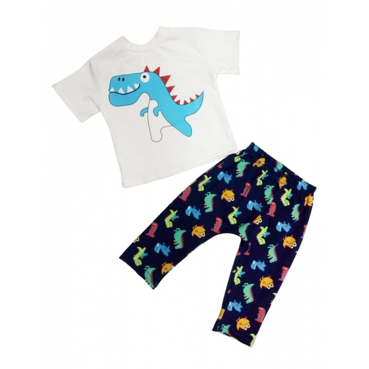 Футболка и брюки комплект Динозаврик