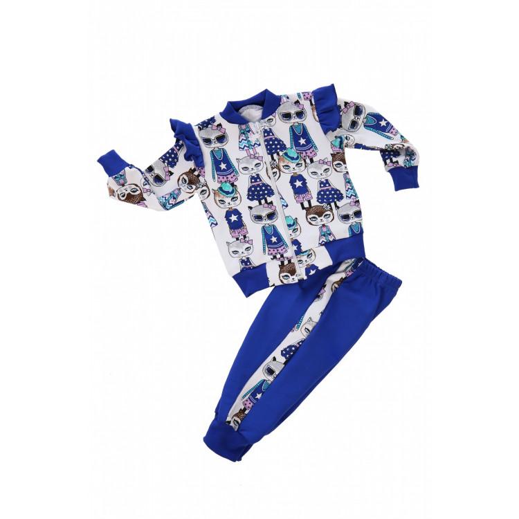 Спортивный костюм для девочки Кошка