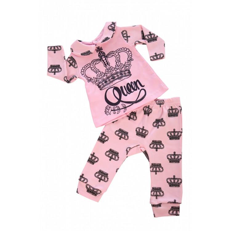 Розовый костюм спортивный Королева