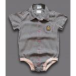 Детская рубашка-боди с принтом