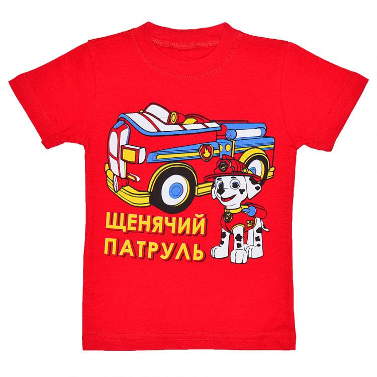 Щенячий патруль  футболка для мальчика