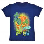 Подростковая футболка для мальчика, синяя