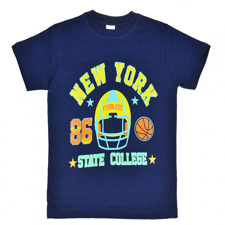 Школьная футболка для мальчика