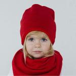 Красная шапка для девочки