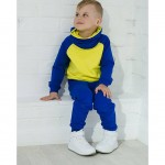 Детский спортивный костюм с высоким воротом