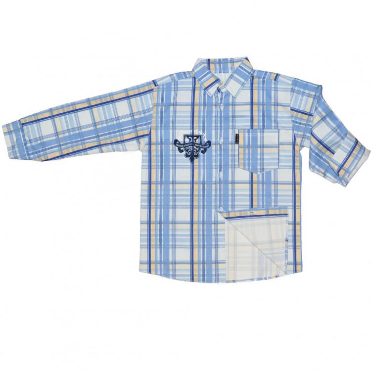 Рубашка в клетку для подростка