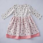 Платье в нежных тонах детское