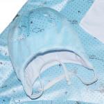 Комплект на выписку голубой 7 предметов