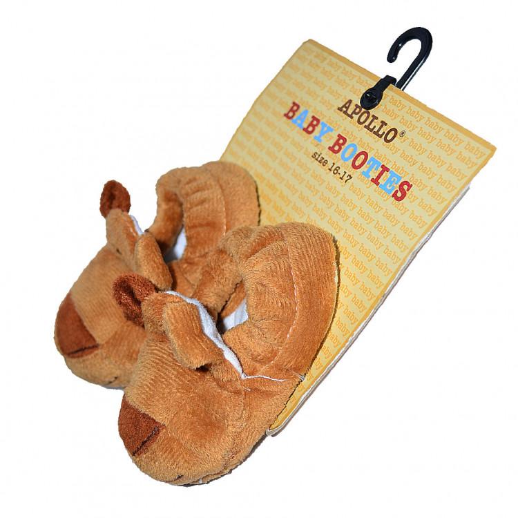 Пинетки-игрушка в виде собачки