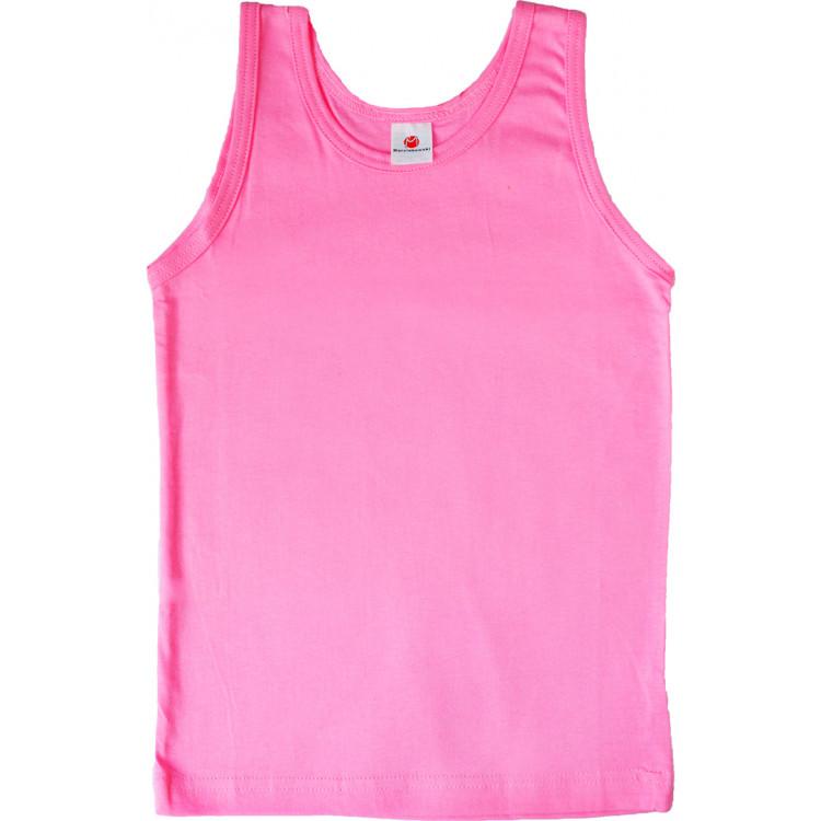 Футболка-майка розового цвета