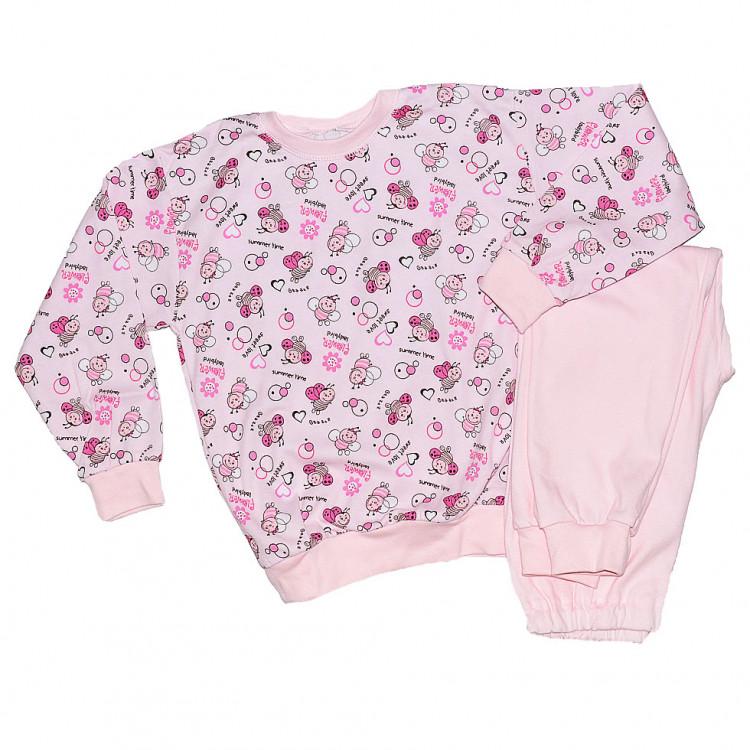Розовая пижама для девочки