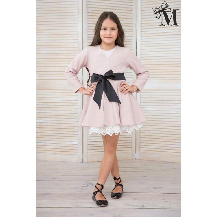 """Подростковое пальто для девочек """"Pink"""""""