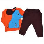 Комплект детский с объемным рисунком, слоник