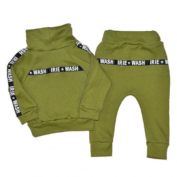 """Зеленый спортивный костюм """"Wash Irie"""""""