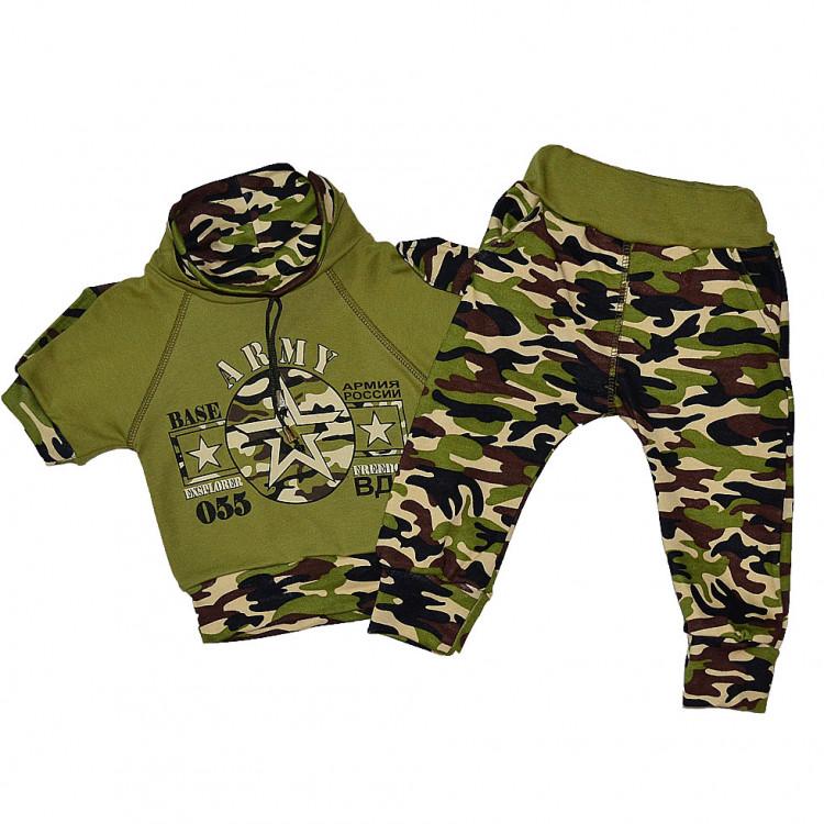 Детский военный спортивный костюм