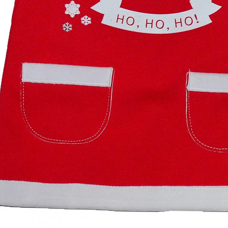 Новогоднее платье с Дед Морозом