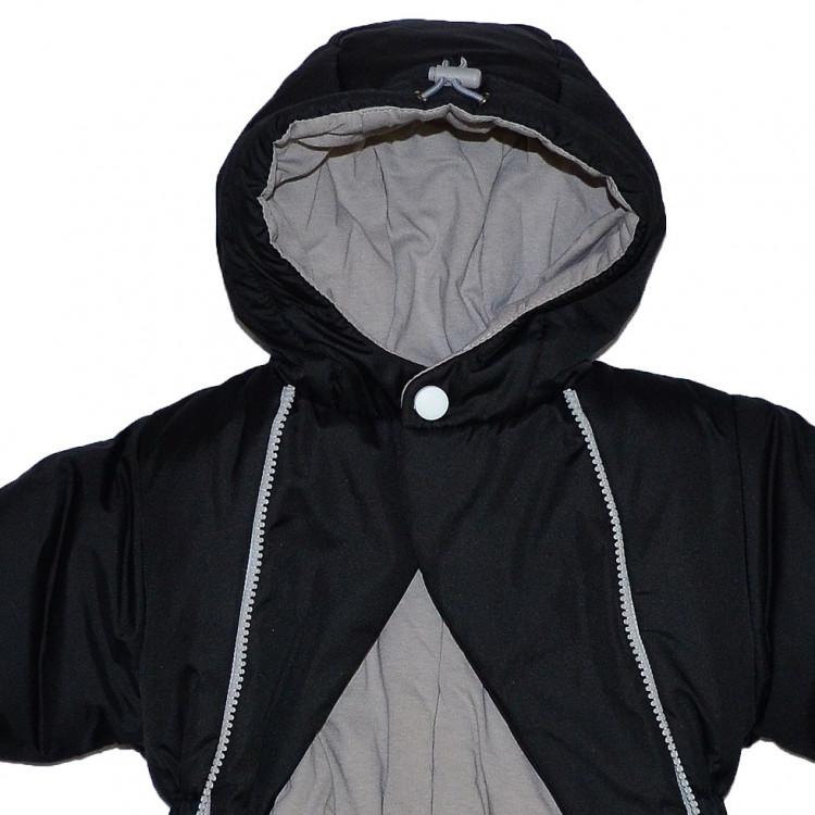 Комбинезон детский черного цвета с принтом