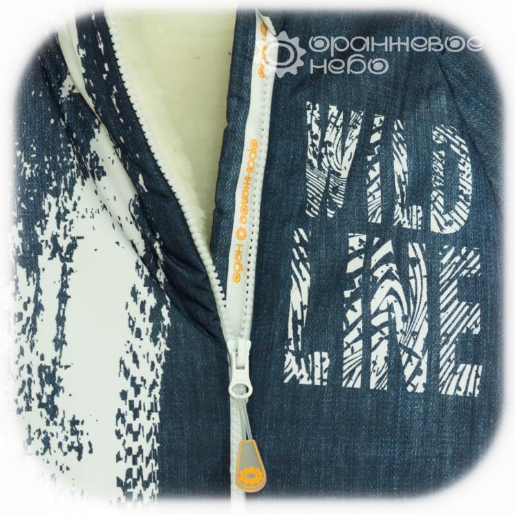 Кокон зимний серии Jeans
