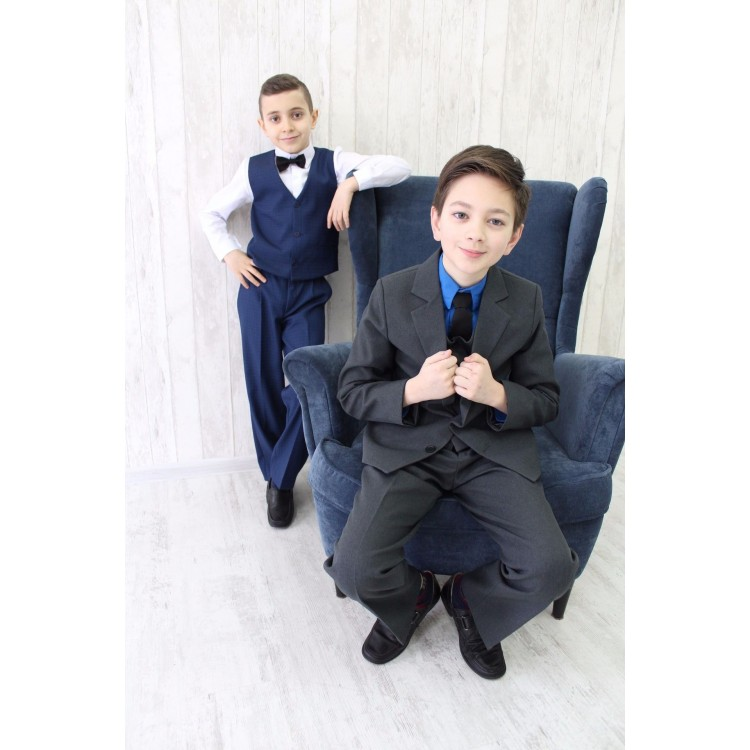 """Стальной плотный костюм на выпускной """"Stal"""""""
