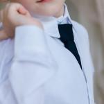 Белый праздничный костюм