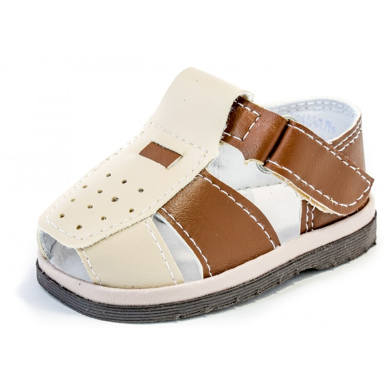 Туфли для мальчика коричневые