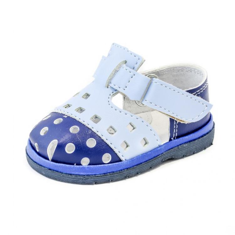 Голубые туфельки для мальчика