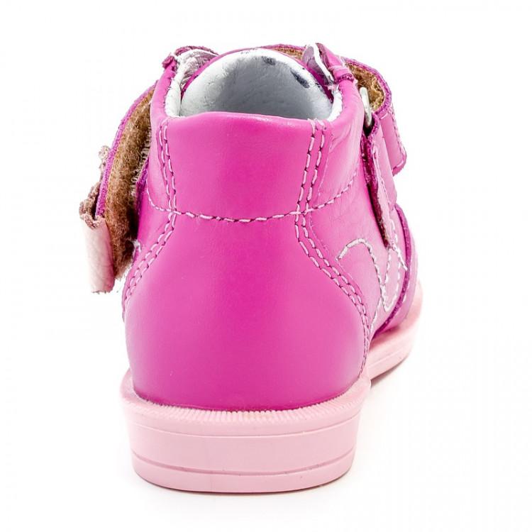 Ботинки ясельные розового цвета
