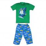 Бриджи и футболка с акулой