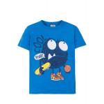 """Прикольная голубая футболка для мальчика """"Cool"""""""