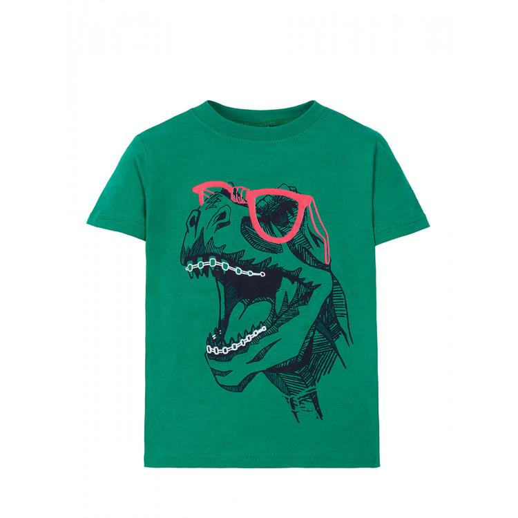 Голубая футболка с динозавриком