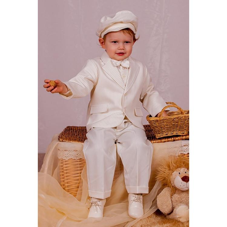 Классический белый костюм для мальчика