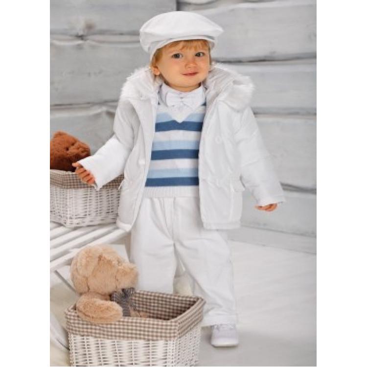 Белый комплект для мальчика