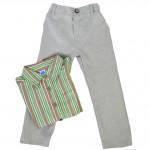 Комплект брюки с рубашкой, FY025, зеленый