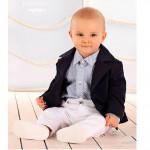 Трикотажный праздничный костюм для мальчика