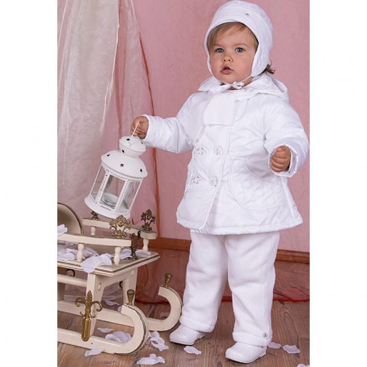 Куртка в комплекте со штанами белая