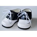 Ботинки для мальчика, сине-белого цвета